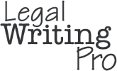Legal Writing Pro