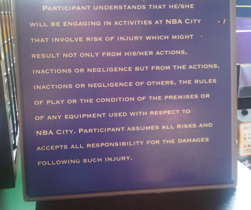 NBA City's Terms